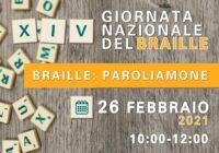 Locandina XIV Giornata Nazionale del Braille